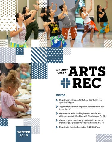 3c9f11c9d891b5 City of Walnut Creek Guide to Arts + Rec - Winter 2019 by City of ...
