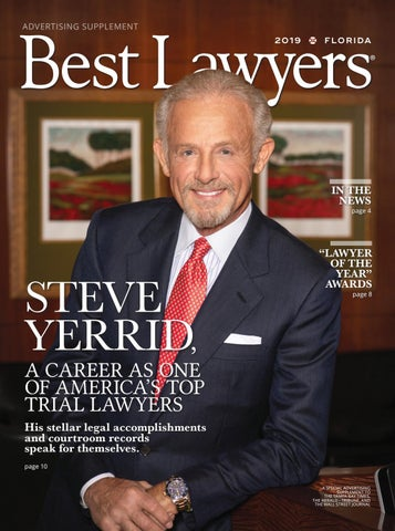 Best Lawyers In Florida Tampa Edition 2019 By Best