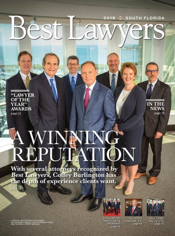 Best Lawyers In Florida South Florida Edition 2019 By