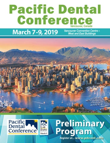 2019 Pacific Dental Conference Preliminary Program by Pacific Dental