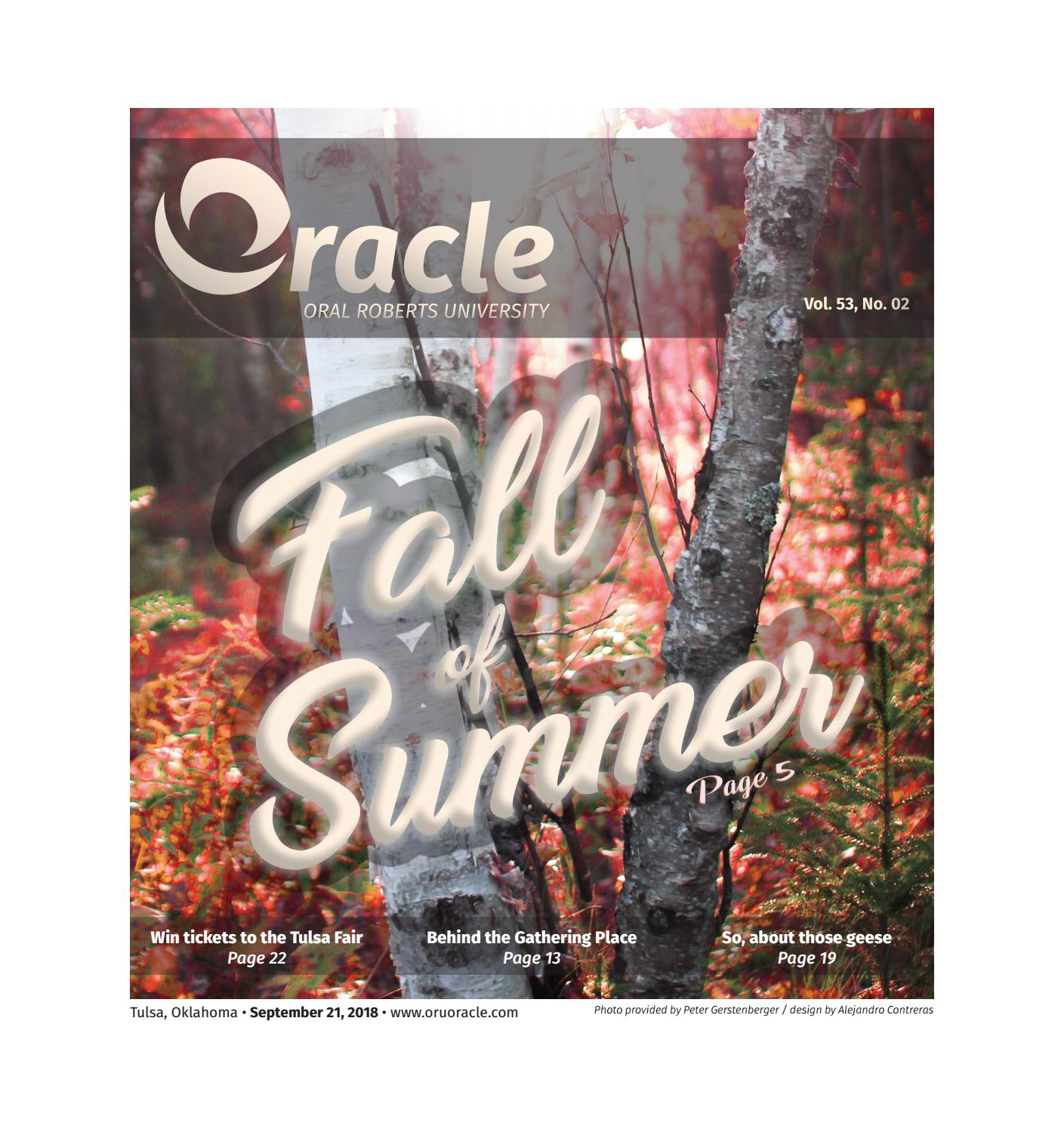 September 21, 2018 - First Day of Fall by ORU Oracle - issuu