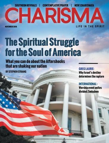 Charisma Magazine- November 2018 by Charisma Media - issuu