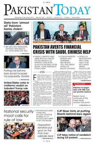 E-Paper PDF 7th November (LHR) by Pakistan Today - issuu