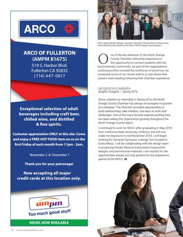 Page 18 of North Orange County Chamber Interns Making an Impact