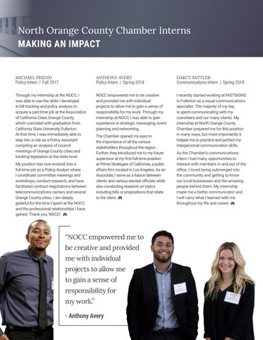 Page 19 of North Orange County Chamber Interns Making an Impact