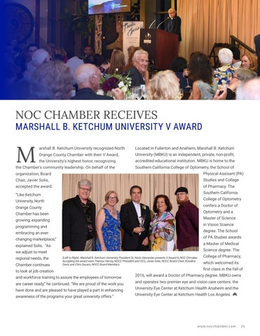 Page 25 of NOC Chamber Receives V Award
