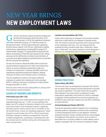 Page 6 of New Year Brings New Employment Laws