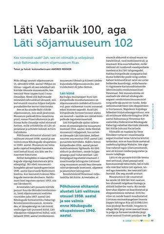 613420cbac5 ... Page 77 of Läti Vabariik 100, aga Läti sõjamuuseum 102