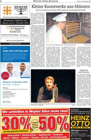 Christbaumkugeln Marmorieren.Weser Report Weyhe Syke Bassum Vom 07 11 2018