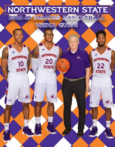 fde90d4fa10 2018-19 Northwestern State Men s Basketabll Media Guide by ...