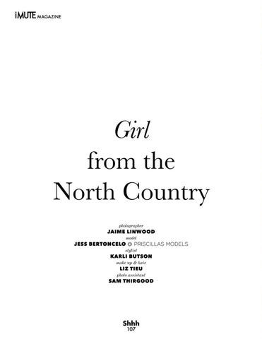 Page 108 of Cover Story | Girl from North Country