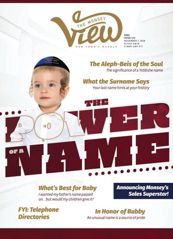 a3f8ee5812f Issue 172 by The Monsey View - issuu