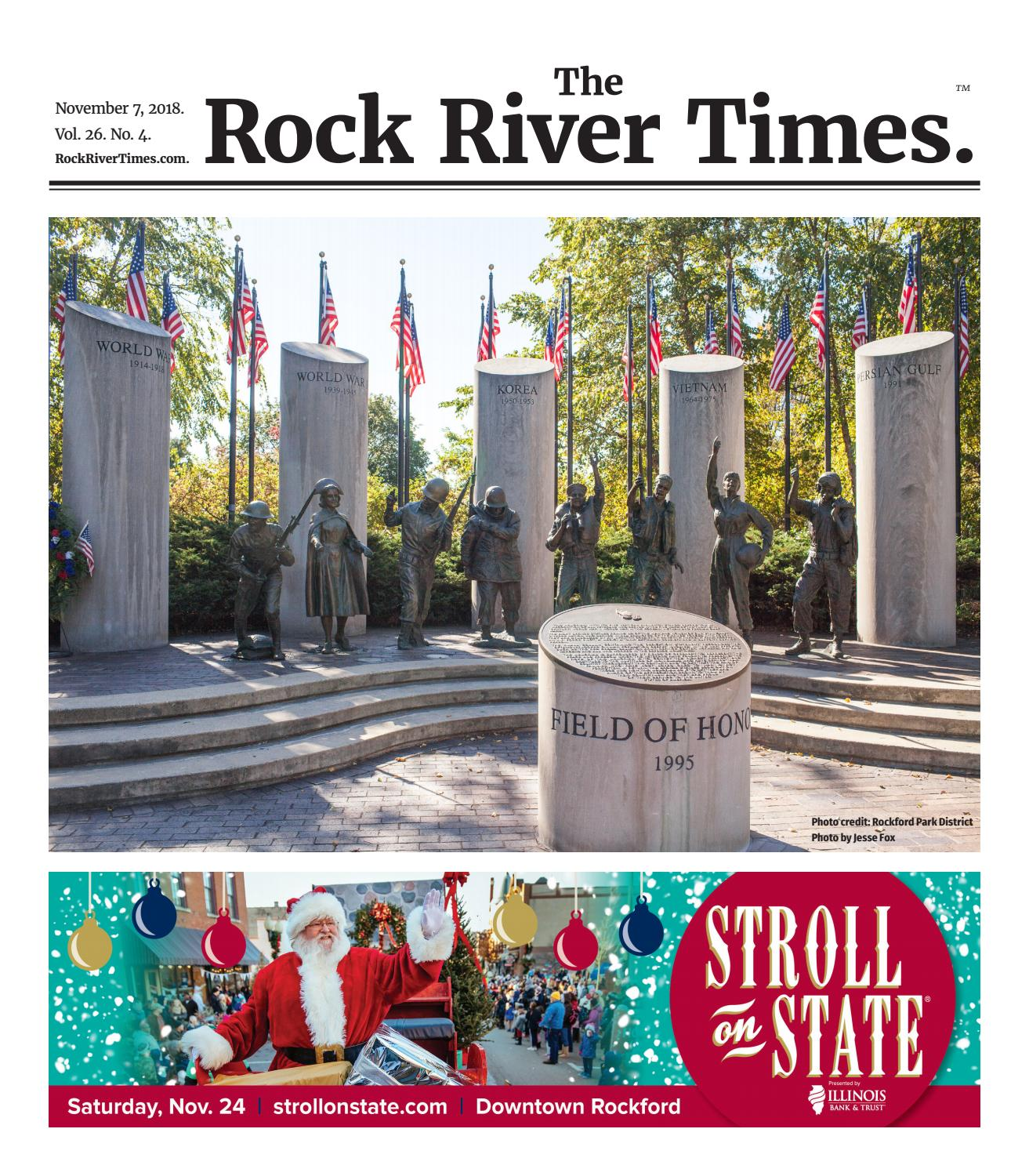 The Rock River Times – November 7, 2018 by Rock River Times