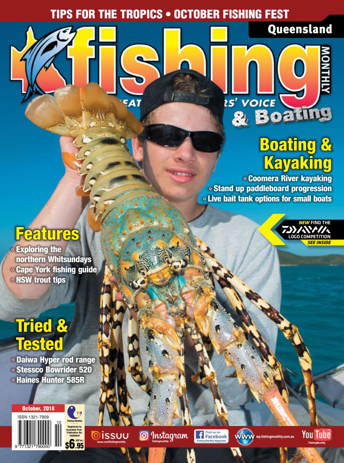 a96f584c8dc Queensland Fishing Monthly October 2018 by Fishing Monthly - issuu