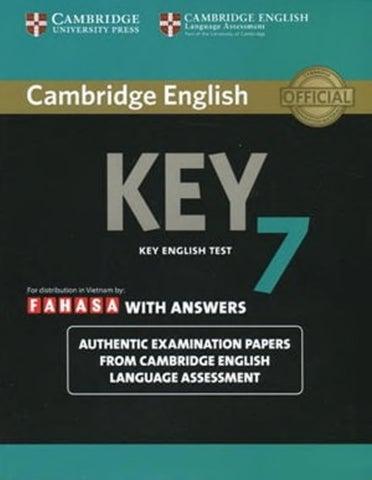 cambridge key english test 3 with answers pdf