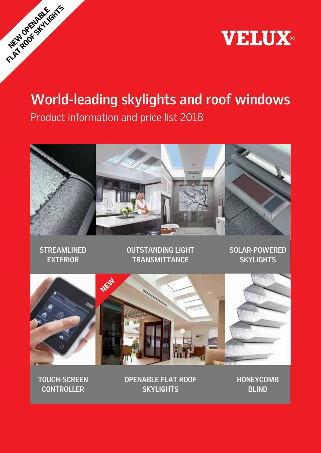 New Velux Brochure by Skylights WA - issuu