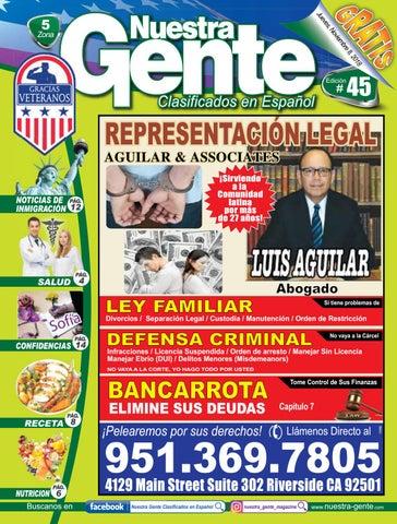 Nuestra Gente 2018 Edicion 45 Zona 5 by Nuestra Gente - issuu