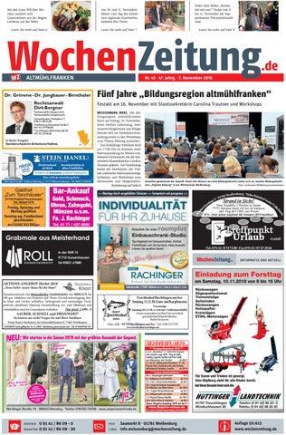 Wochenzeitung Altmuhlfranken Kw 45 18