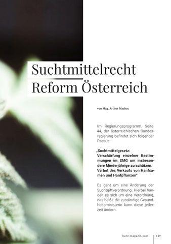 Page 119 of Suchtmittelrecht Reform Österreich