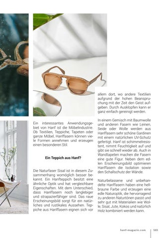 Page 165 of Interieur & Lifestyle aus Hanf