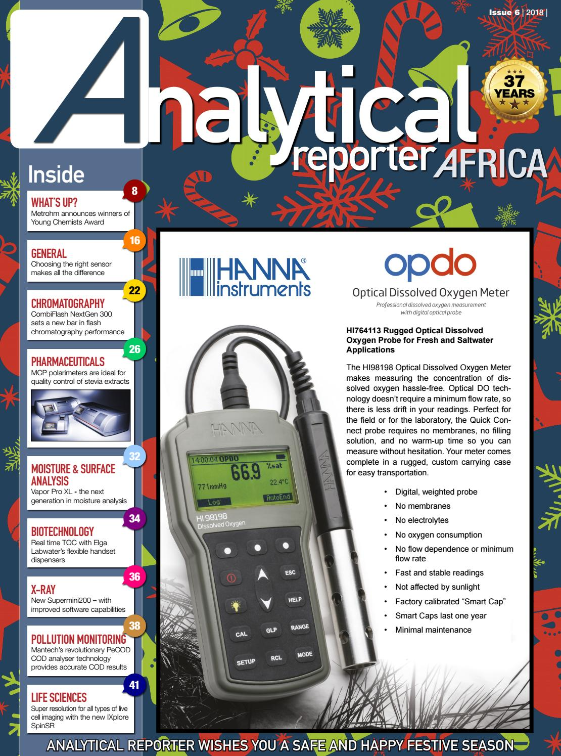 13307cf1d6a Analytical Reporter November/December 2018 by New Media B2B - issuu