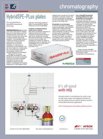 Page 18 of Phospholipid technology