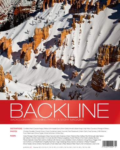 BACKLINE 2012 Backcountry Freeskiing Photo & Story