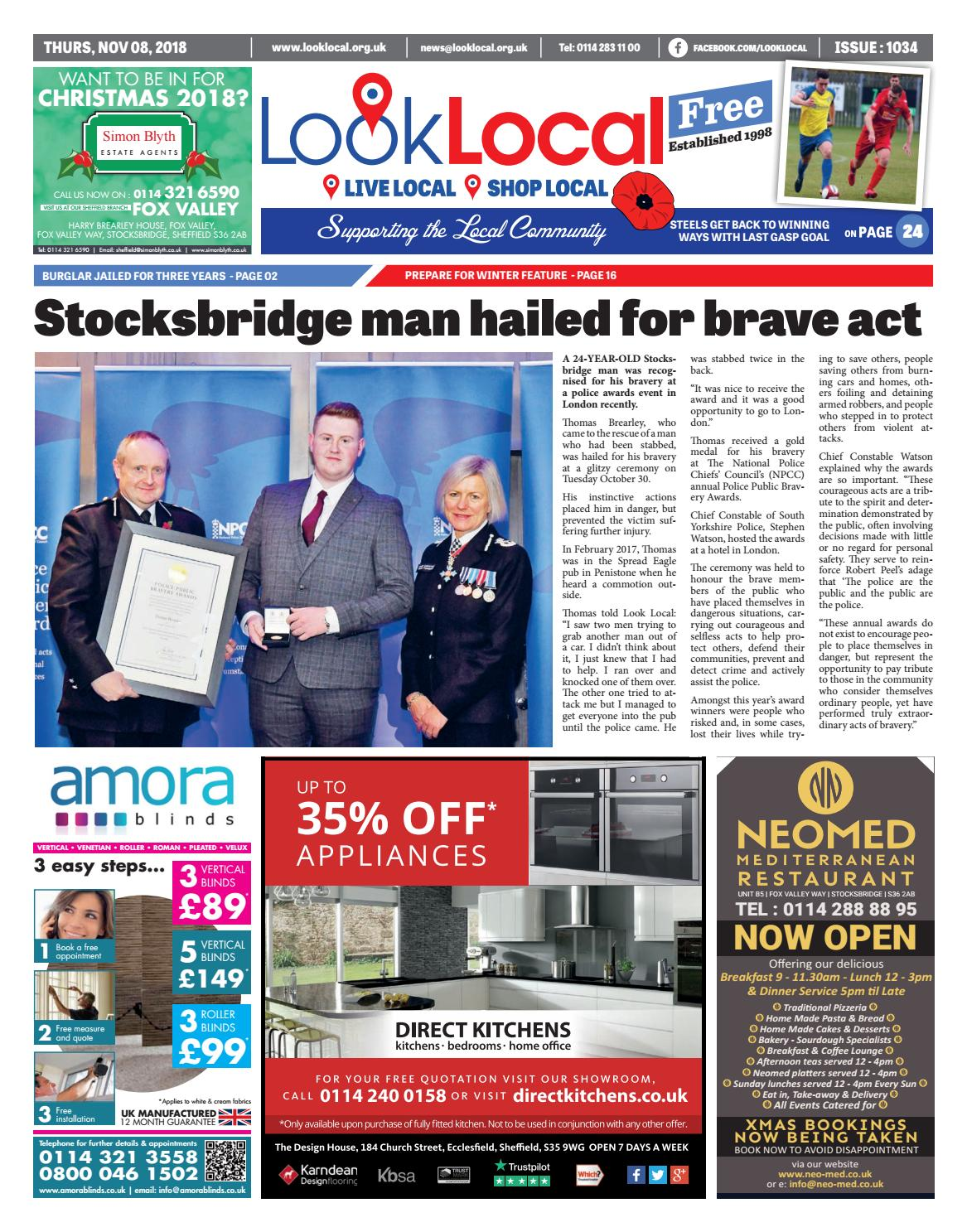 3e9ea79916 Issue 1034 Thursday 8 November 2018 by Look Local Newspaper - issuu