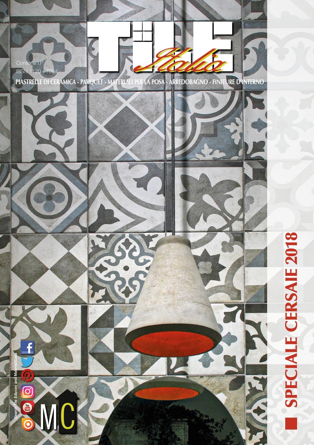 Paoloni Ceramiche Srl Arredo Bagno E Cucine.Tile Italia 4 2018 By Tile Edizioni Issuu