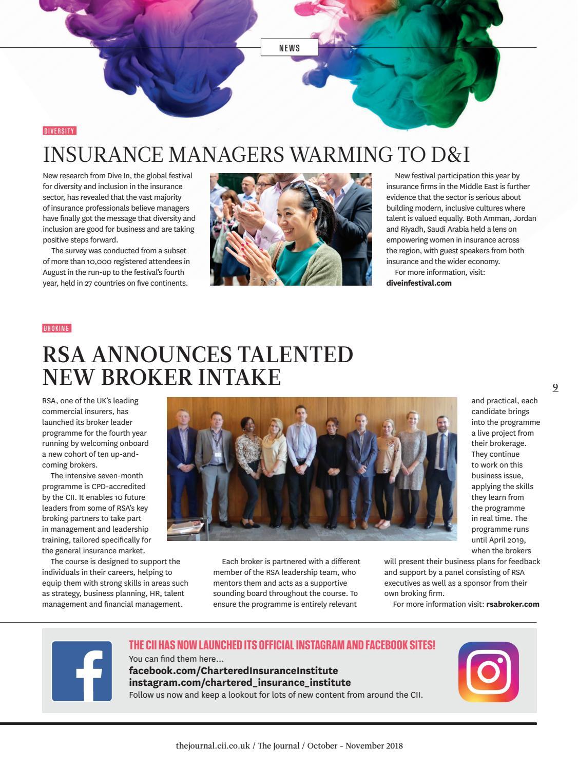 The Journal October - November