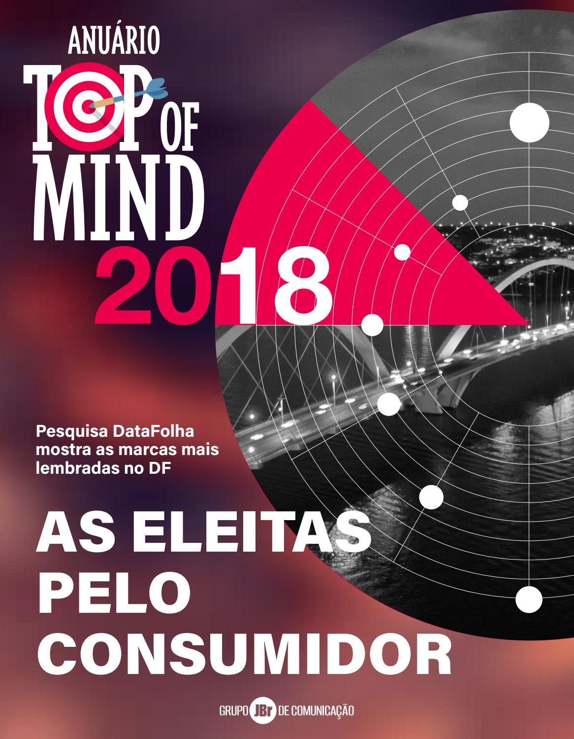 100 Rostos Mais Bonitos De 2018 anuário top of mind 2018topofmindbrasilia - issuu