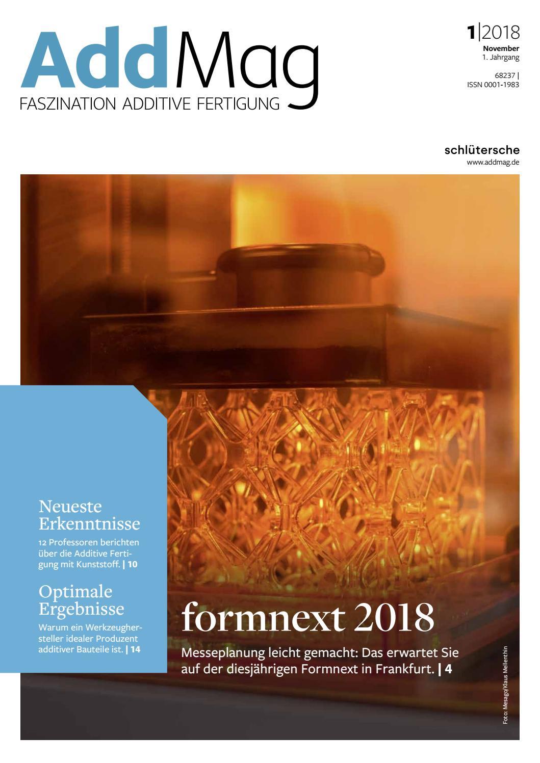 AddMag 01 2018 by Schluetersche - issuu