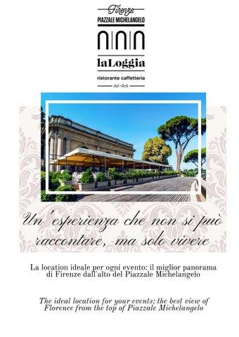 Brochure Location Ristorante La Loggia Firenze By Simone
