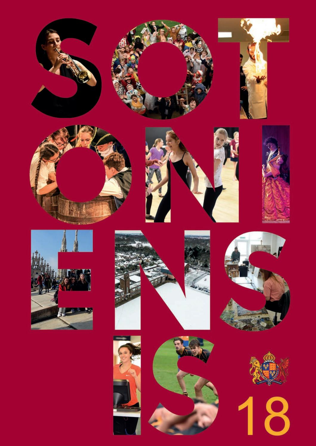 Sotoniensis 2018 by King Edward VI School - issuu