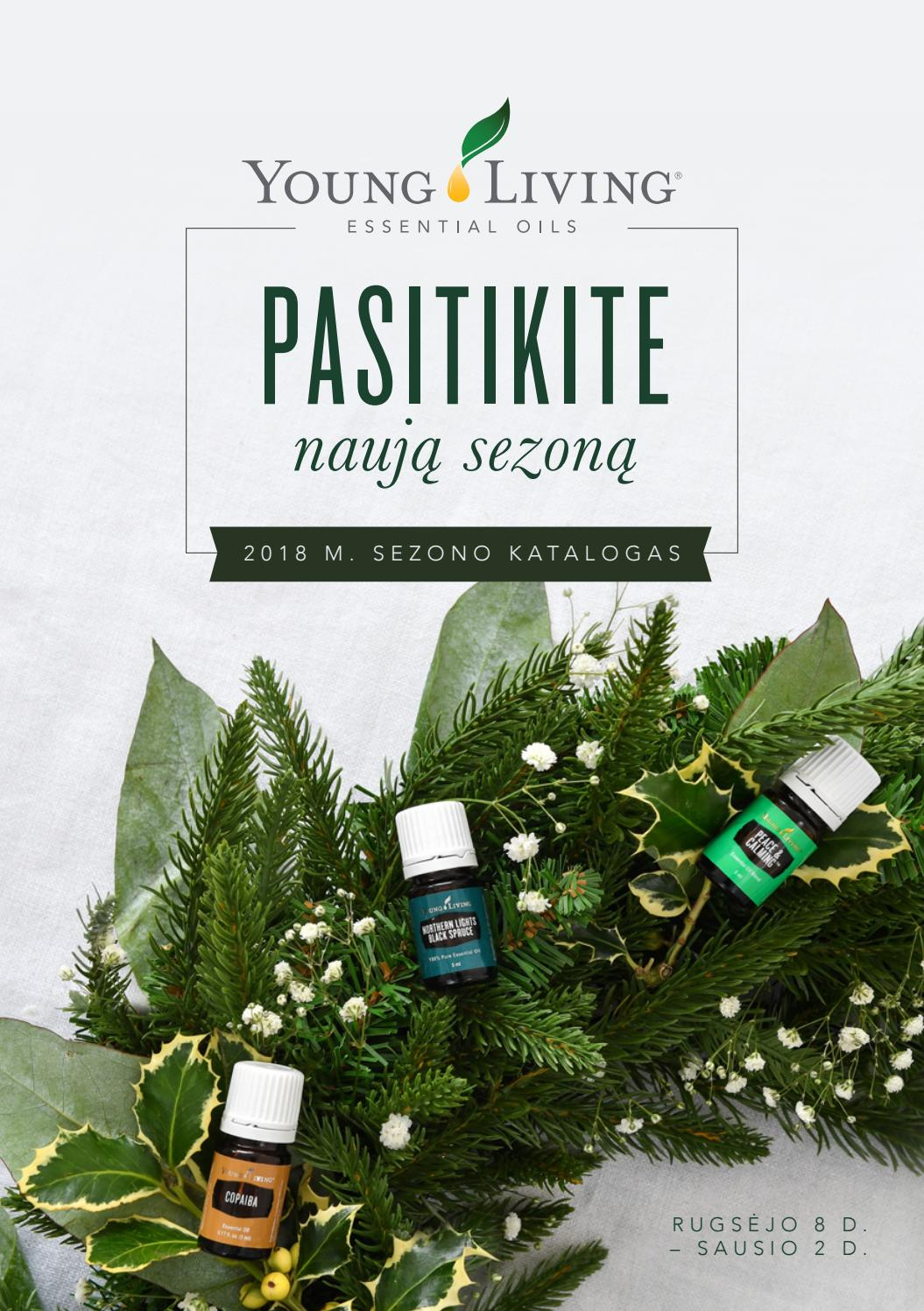 Young Living Christmas Tree.2018 M Sezono Katalogas Eur Lt By Young Living Europe Issuu