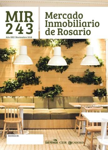 MIR 243 - Mercado Inmobiliario de Rosario by Editorial San