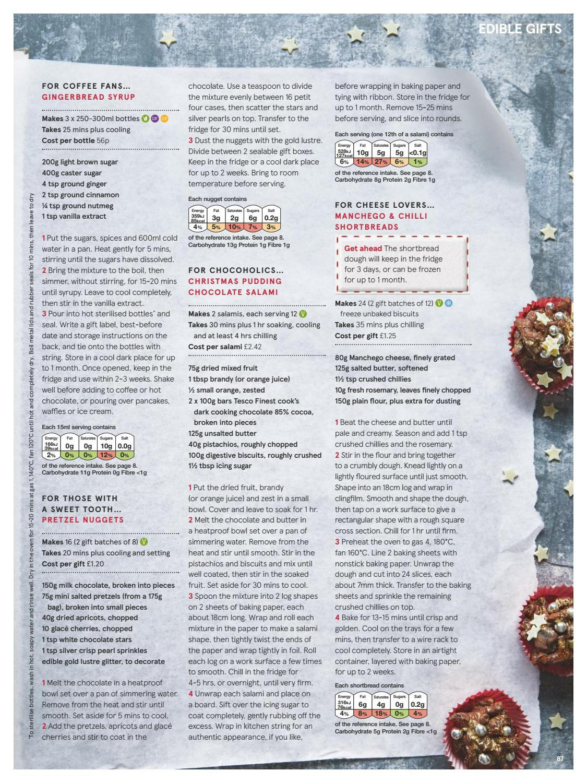 Tesco Magazine Christmas 2018