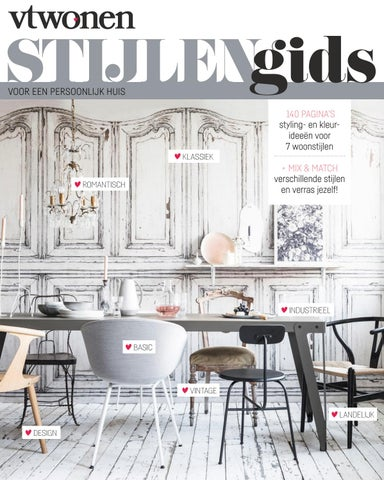 Vtwonen Tafel Rond.Vtwonen Stijlengids By Home Deco Sanoma Issuu