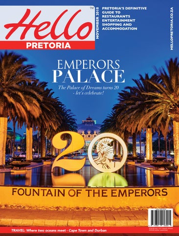 Hello Pretoria Nov 2018 by SpinnerCom Media - issuu ef870583fb7