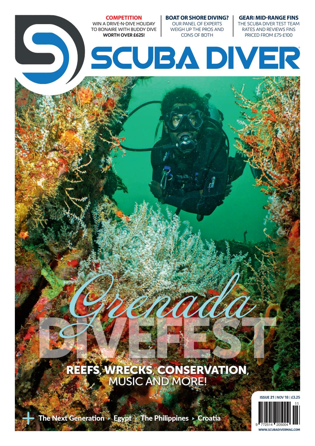 Scuba Diver Uk November Issue 21 By Scubadivermag Issuu Our Circuit Adding A Switch First We Took Apart An Old Flashlight