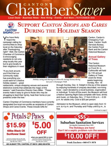 Page 1 of Canton Shops and Cares Events