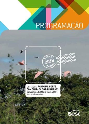 9d5e820fac02 Turismo Social | JANEIRO e FEVEREIRO | 2019 | Sesc em São Paulo by ...