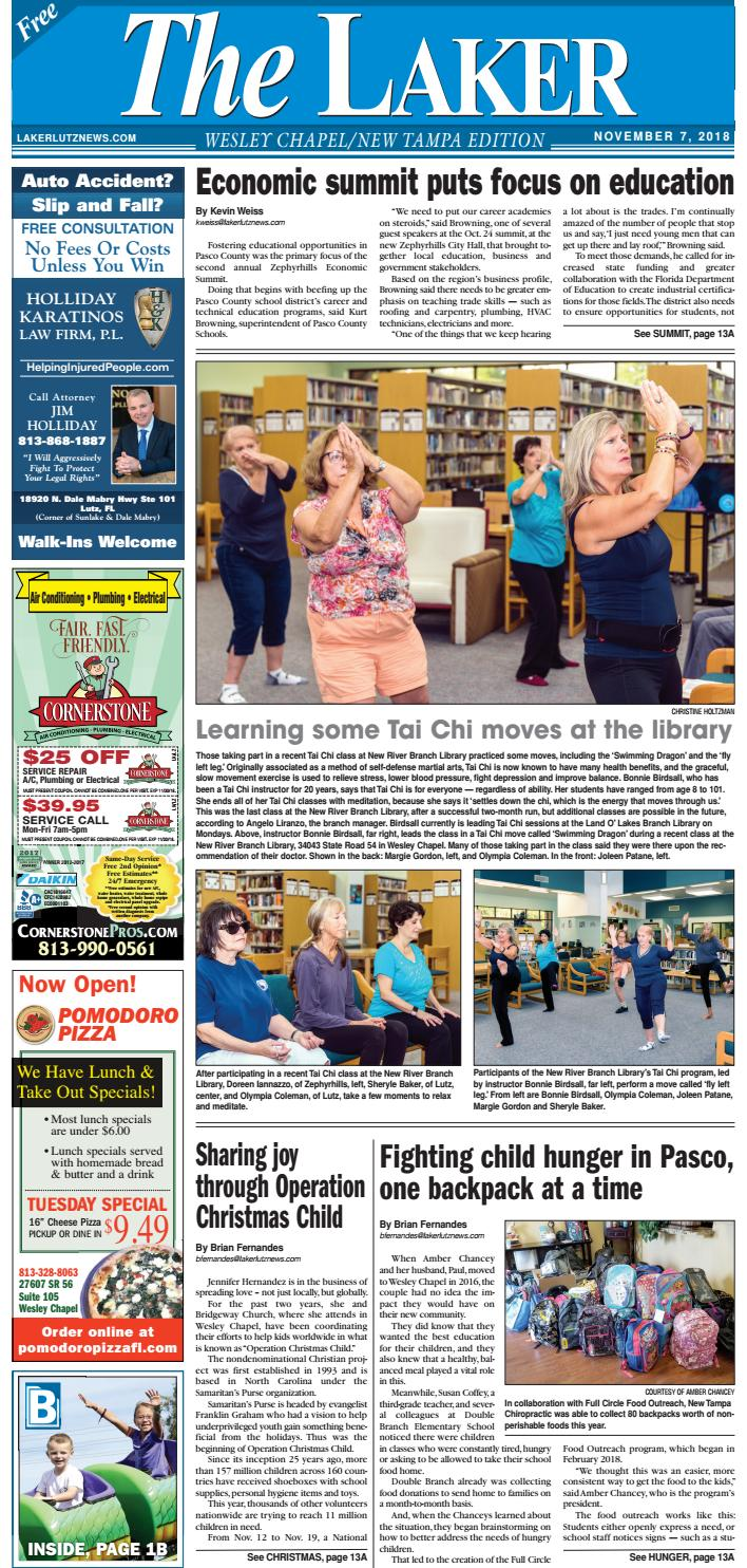 size 40 821ad 26502 The Laker-Wesley Chapel New Tampa-November 7, 2018 by LakerLutzNews - issuu
