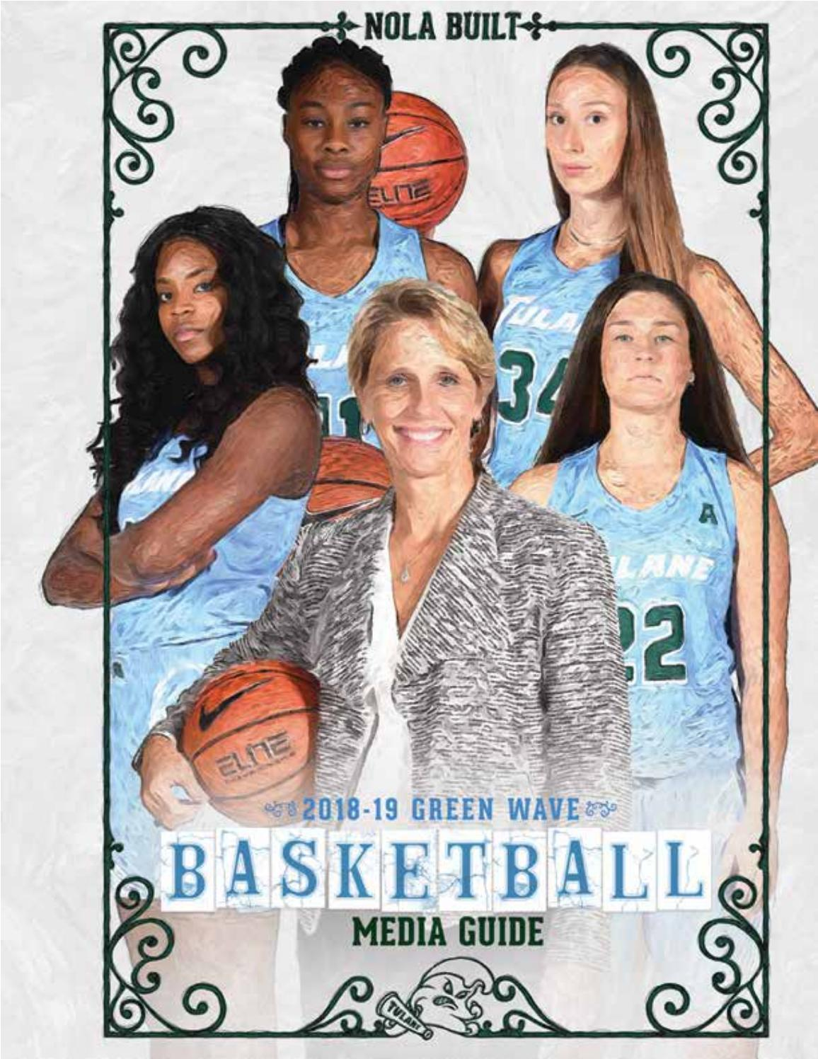2018 19 Tulane Women S Basketball Media Guide By Tulanegreenwave