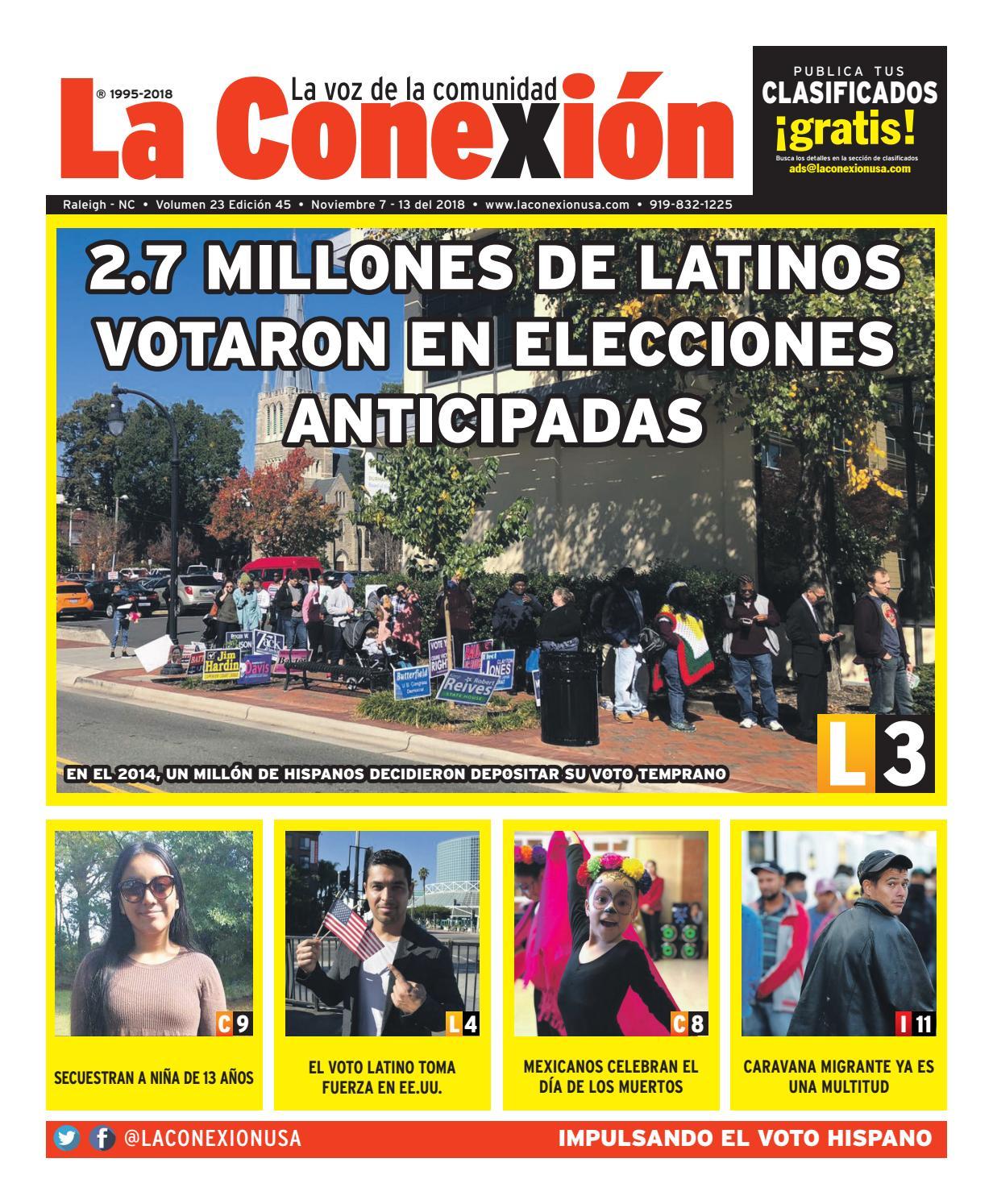 La Conexión 2018-11-07 by La Conexion USA - issuu 7659d22075ef9