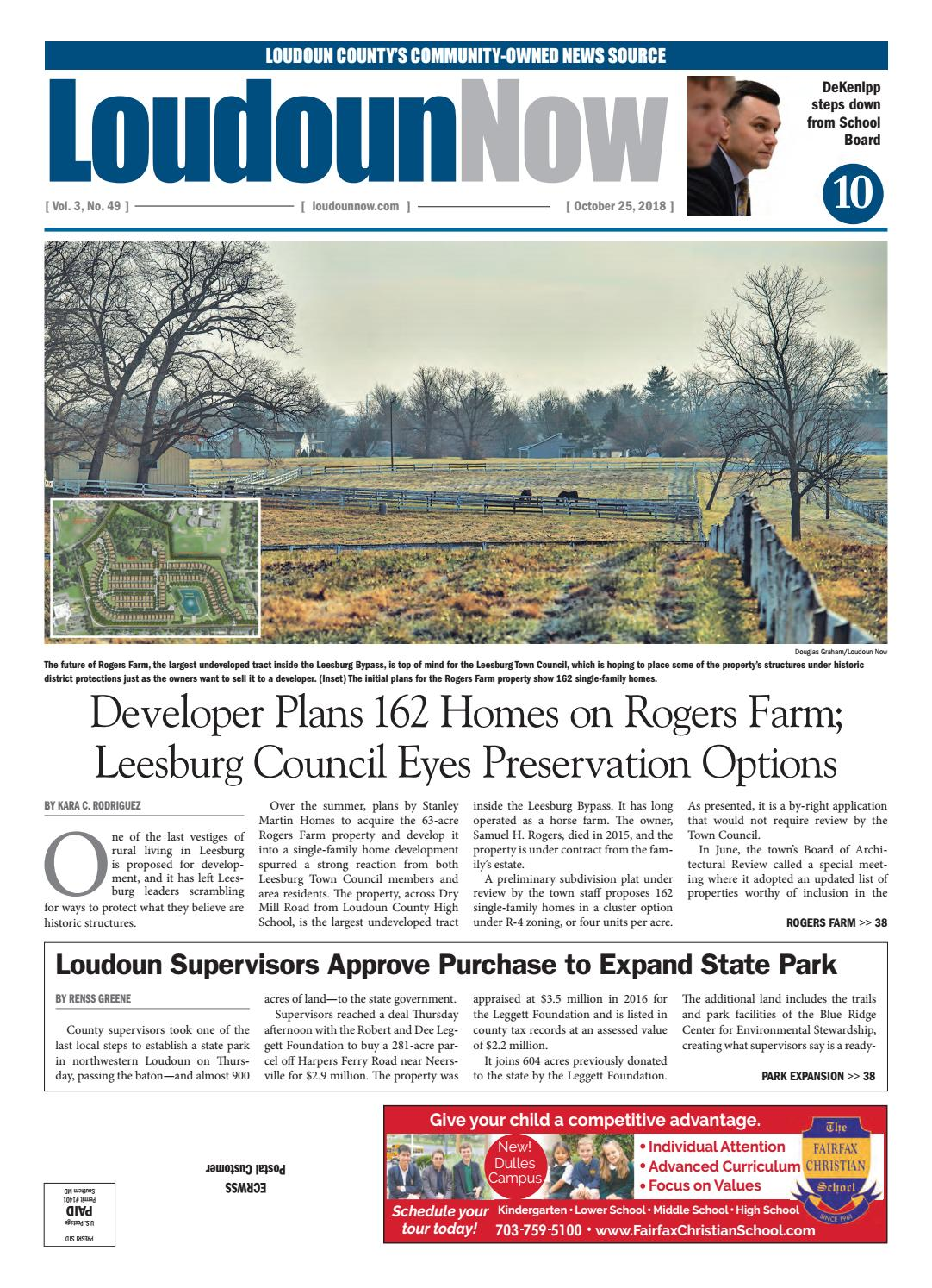 Loudoun Now for Oct  25, 2018 by Loudoun Now - issuu