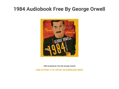 1984 Audiobook Free By George Orwell By Wasic6659 Issuu