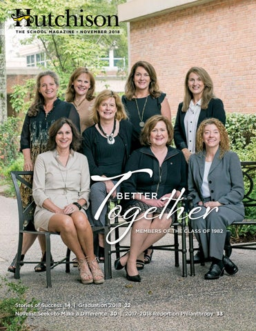 Hutchison Magazine November 2018 By Hutchison School Issuu