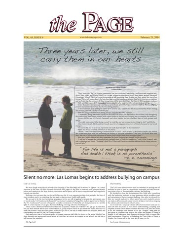 Volume 63 Issue 4 By Las Lomas Page Issuu