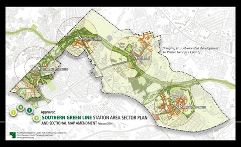 Preliminary Southern Green Line Station Area Sector Plan and